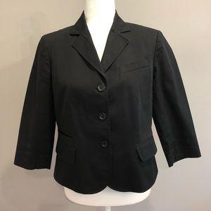 Ann Taylor LOFT black blazer, size 10